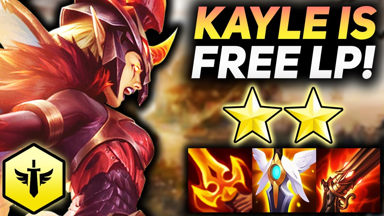 6 REDEEMED KAYLE CARRY SCALES INTO INFINITE DAMAGE!!   Teamfight Tactics Patch 11.15