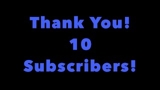 ROBLOX 10 SUBS THANKS!!