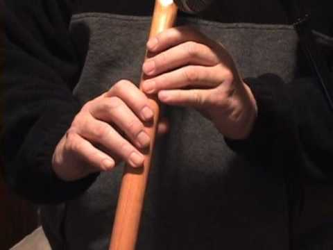 "Amazing Grace 6 Hole flute How to Play Native American Flute.  ""Falcon Flutes and Drums"""