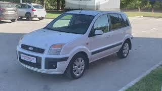 Экспресс обзор Ford Fusion, 2008 132 833 км, 1.6, MT (101 л.с.), хетчбэк, передний, бензин