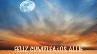 Allie - Moons - Happy Birthday