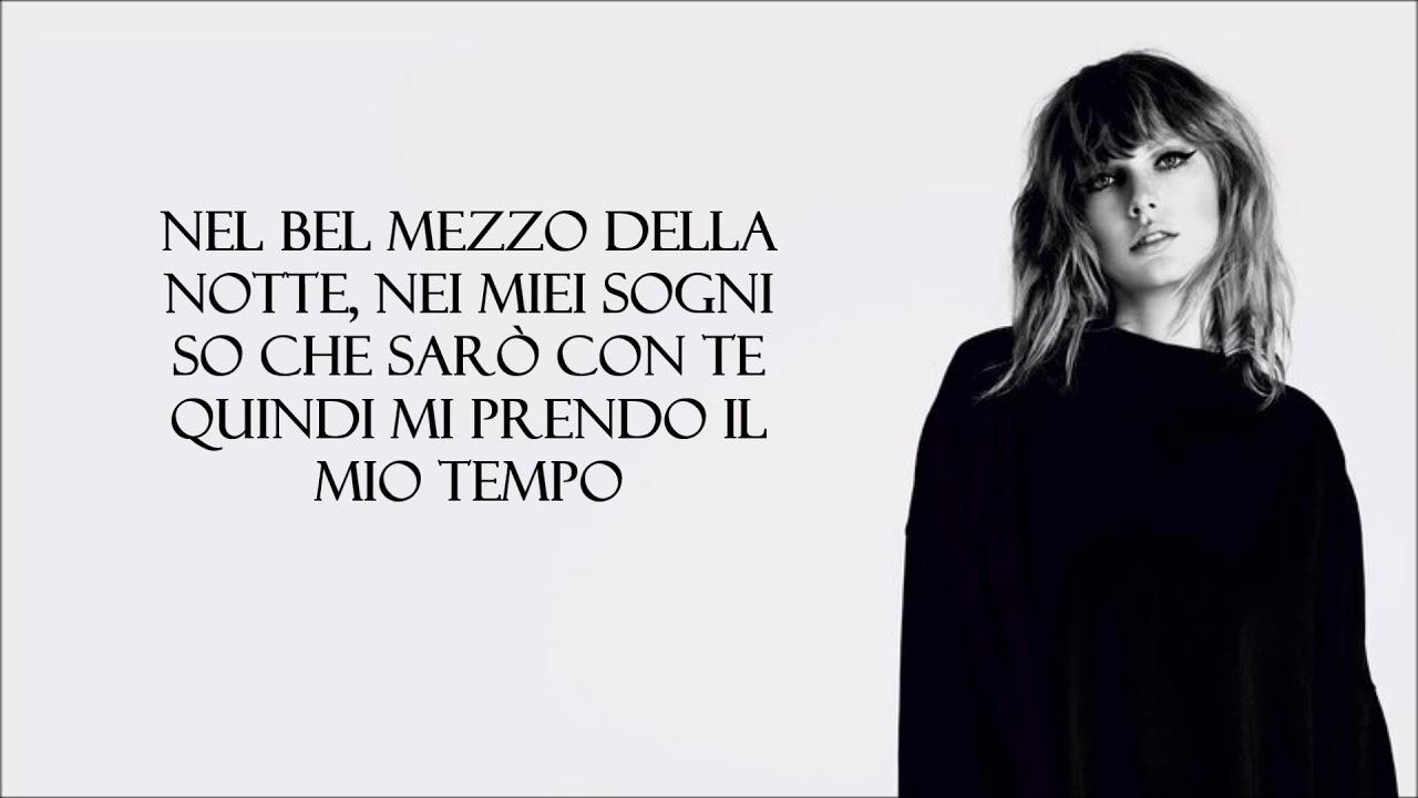 Taylor Swift Ready For It Traduzione In Italiano Youtube