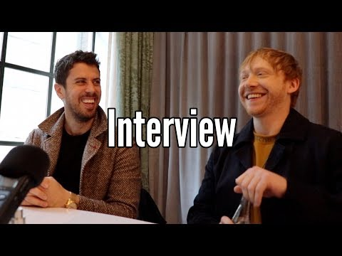 """Toby Kebbell and Rupert Grint LOVE working with each other on Apple TV+'s """"SERVANT"""""""