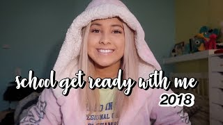 another high school get ready with me 2018