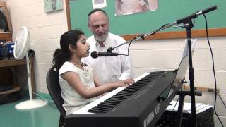 Dil to pagal hai - Piano by 6 yr old
