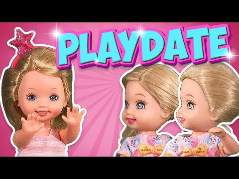 Barbie - The Twins First Playdate | Ep.129