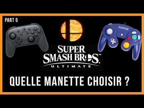 Quelle manette choisir ? Et quelle touches ? : Super Smash Bros Ultimate thumbnail
