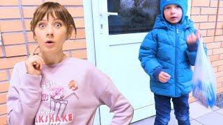 Ушел САМ в Магазин без родителей!!! Мама сильно испугалась. Что было дальше???