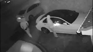 Überwachungsvideo: Autodiebstahl per Funk-Fake