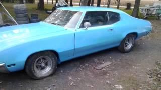 1972 Blue Skylark Restoration