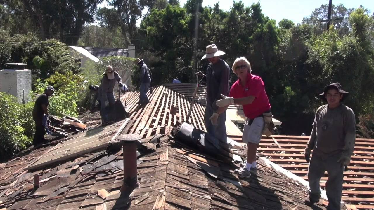 How To Tear Off A Cedar Wood Shake Roof Palos Verdes