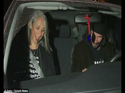 Sad Keanu Reeves Smiles Again On Date With Mystery Woman Youtube