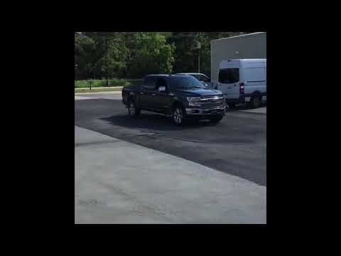 2018 3.0 Powerstroke f150 straight piped and deleted! Exhaust sound, Dino, Shifting on the fly!