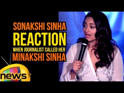 Actress Sonakshi Sinha Reaction When Journalist Called Her MINAKSHI SINHA | Force 2 | Mango News
