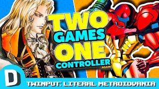 LITERAL METROIDVANIA (Metroid + Castlevania) | Twinput