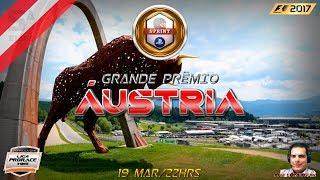 F1 2017 AO VIVO - GP DA AUSTRIA - PS4 SPRINT - NARRAÇÃO LUIS COURA - LIGA PRORACE E-SPORTS