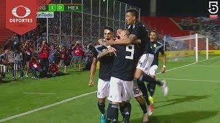 Gol de Mauro Icardi | Argentina 1 - 0 México | Partido Amistoso - Televisa Deportes