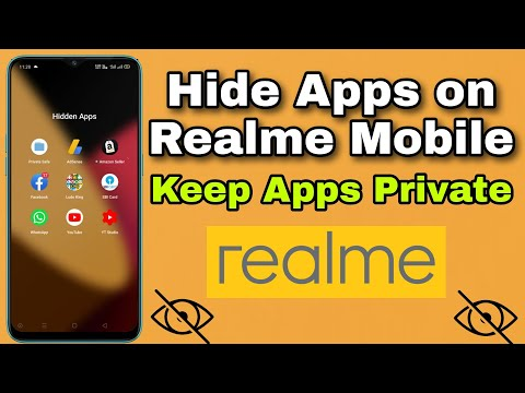 How to Hide apps on realme phone   Keep Apps Private