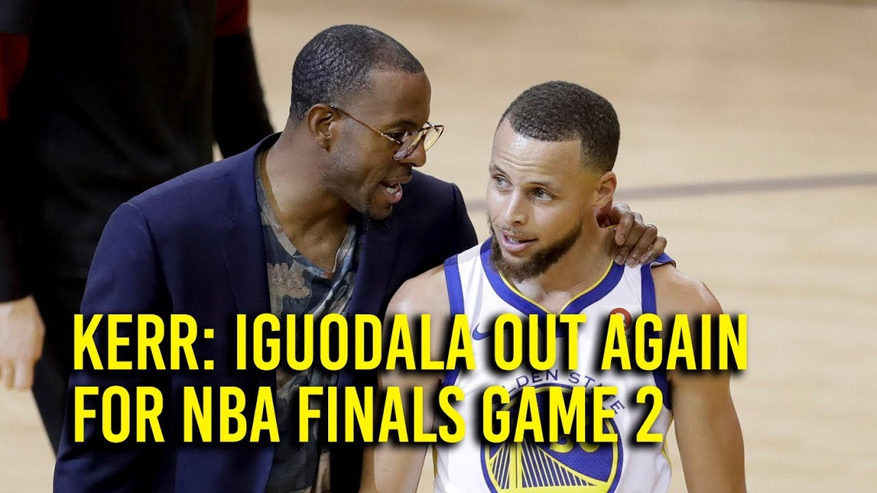 NBA Finals Game 2: Kerr confirms Iguodala out, Klay game-time decision