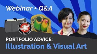 Create a WINNING PORTFOLIO: Illustration & Visual Arts | Webinar + Q&A