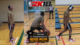 NBA 2K18 MYPARK IN REAL LIFE! BROWN SHIRTS BE LIKE.... NBA 2K18 MYPARK IN REAL LIFE!
