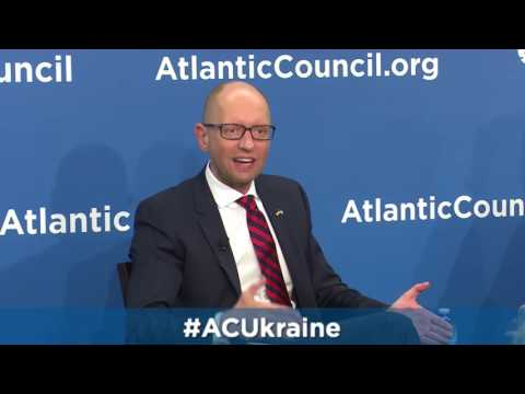 Former Prime Minister of Ukraine Arseniy Yatsenyuk on Russia's invasion of Ukraine