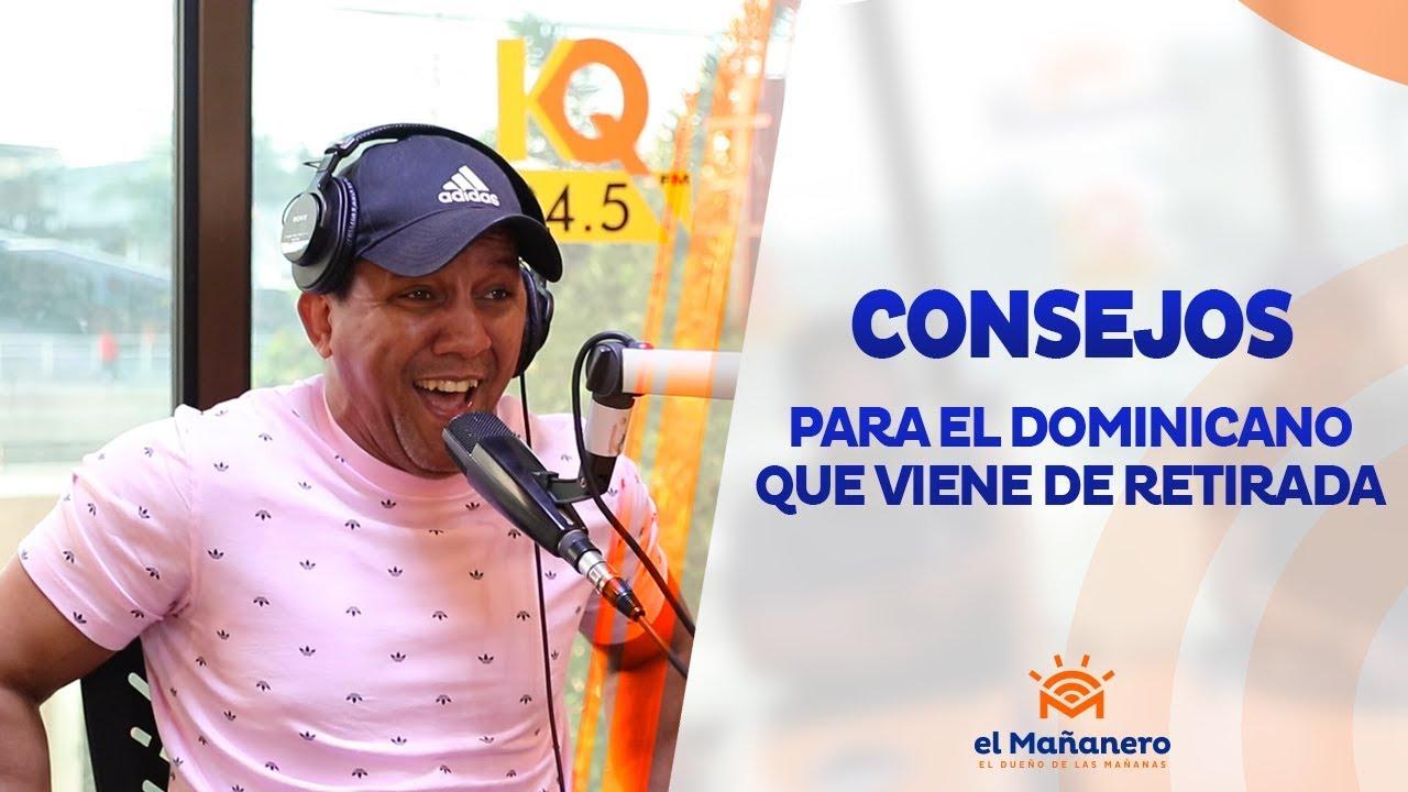 Naguero - Consejo a el dominicano que viene de retirada 2019
