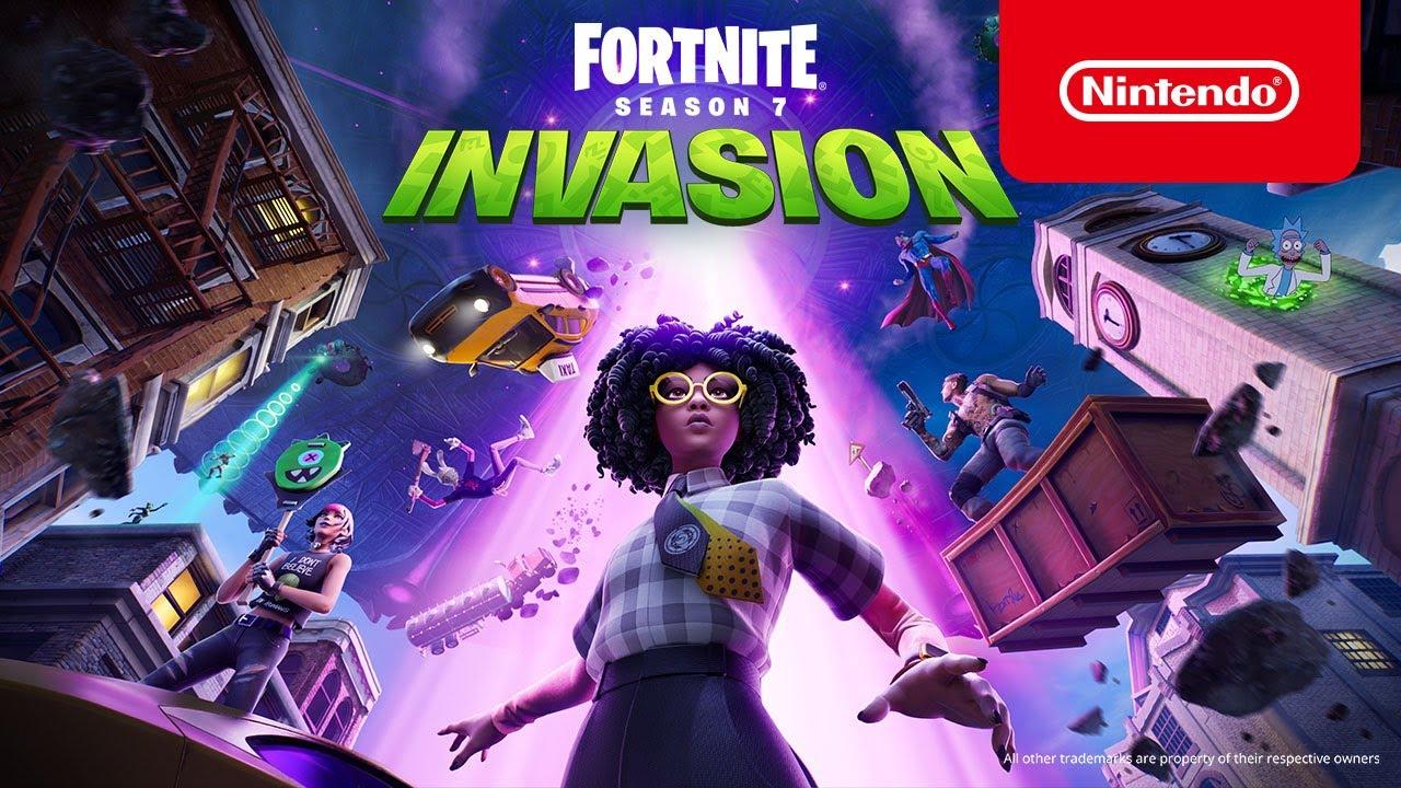 Invasion | Verhaaltrailer – Fortnite Hoofdstuk 2: Seizoen 7 (Nintendo Switch)