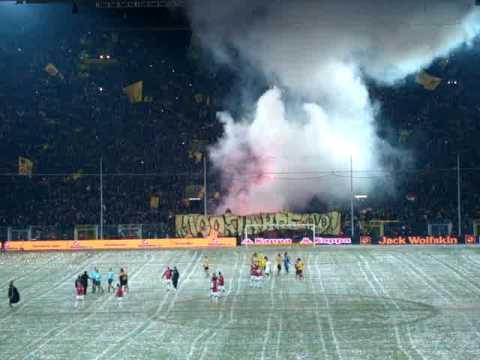 Pyro Borussia Dortmund-  SC Freiburg