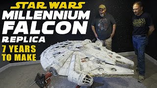 Millennium Falcon - 7 Years To Complete World's Most Accurate Replica