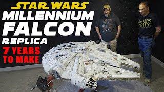 Millennium Falcon - 7 Years To Complete World's Most Accurate Replica
