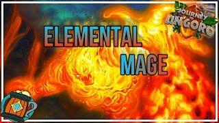 Hearthstone : Deck Tech Elemental Fire Mage(tempo/midrange) Journey to Un