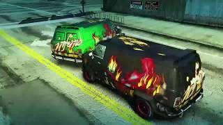 Burnout Paradise Remastered- Fun with the Carson Inferno Van