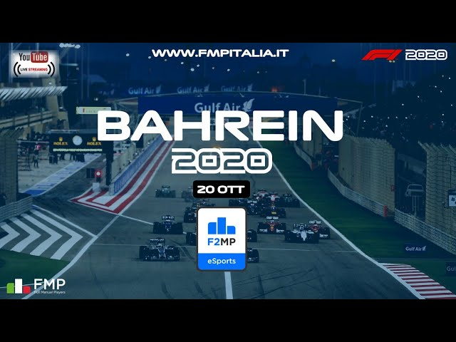 F2MP | #2 BAHREIN GRAND PRIX| FMP ITALIA
