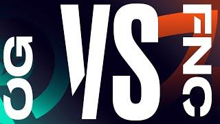 OG vs. FNC - Week 5 Day 1   LEC Spring Split   Origen vs. Fnatic (2020)