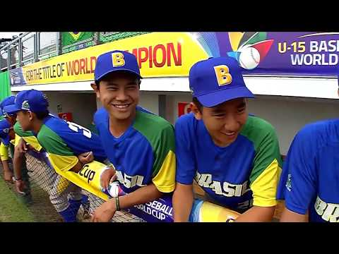 Brazil v USA - U-15 Baseball World Cup 2018
