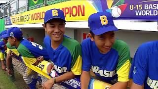 Brazil v USA - U-15 Baseball World Cup 2018