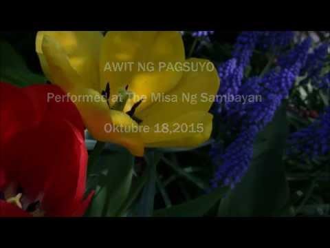 Awit Ng Pagsuyo - Performed by JITS CHOIR MARYLAND