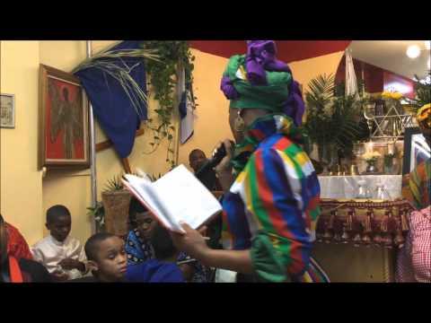 AFRICAN DIASPORA CELEBRATION FOR KING SHEPHERD
