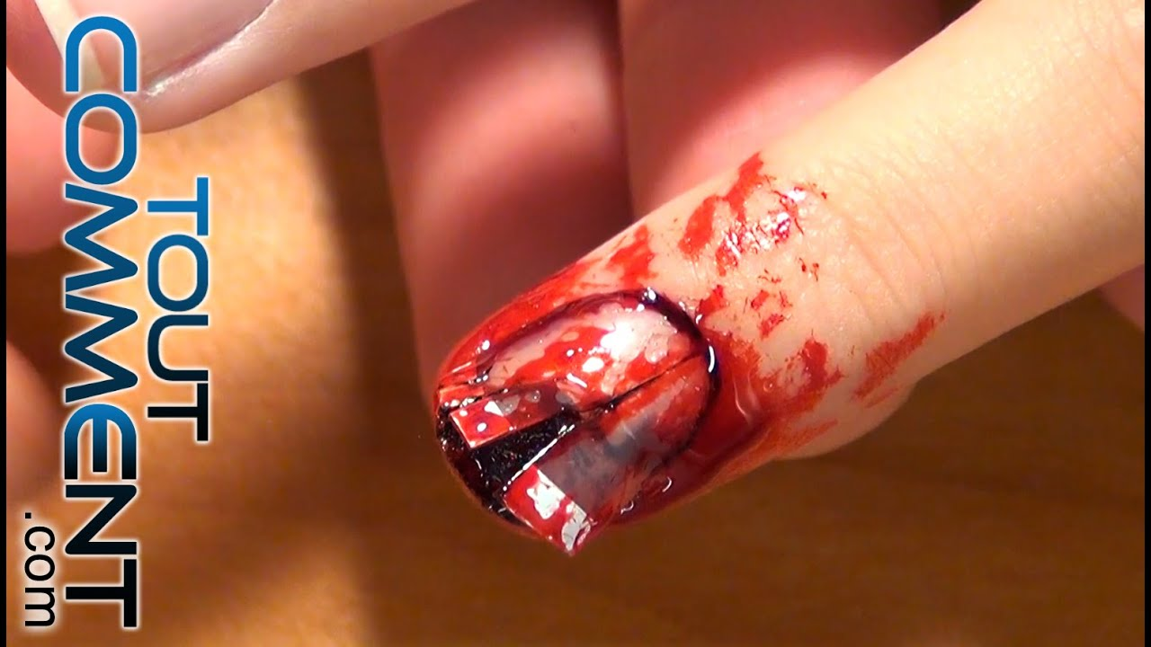 Faire des ongles de zombies youtube - Comment faire des decoration d halloween ...