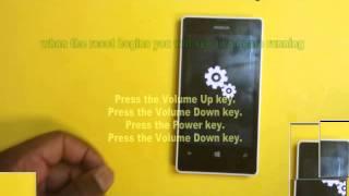 Nokia Lumia 521 - Hard Reset