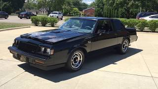 1987 Buick Grand National for Sale   31k miles