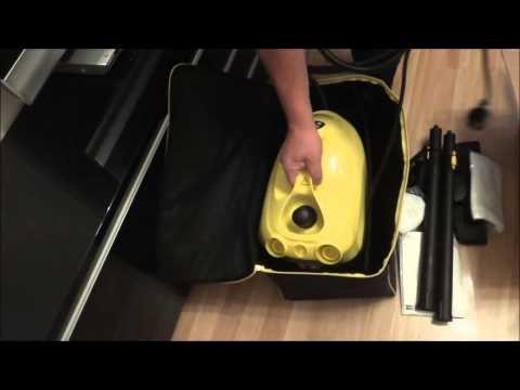 Сумка чехол для пароочистителя и дополнительных аксессуаров. Karcher SC 1.020 и SC 2.500