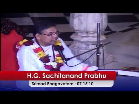 H. G. Satchitananda Das, (Canada) SB Class 7 -15-10, 10 -January - 2017