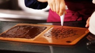 3 Ways to Make Chocolate Decorations | Cake Decorating