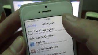 Hướng dẫn cài đặt phần mềm nghe lén iPhone iOS 8.4