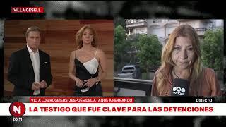 Crimen de Fernando: TESTIGO CLAVE para las detenciones de los RUGBIERS