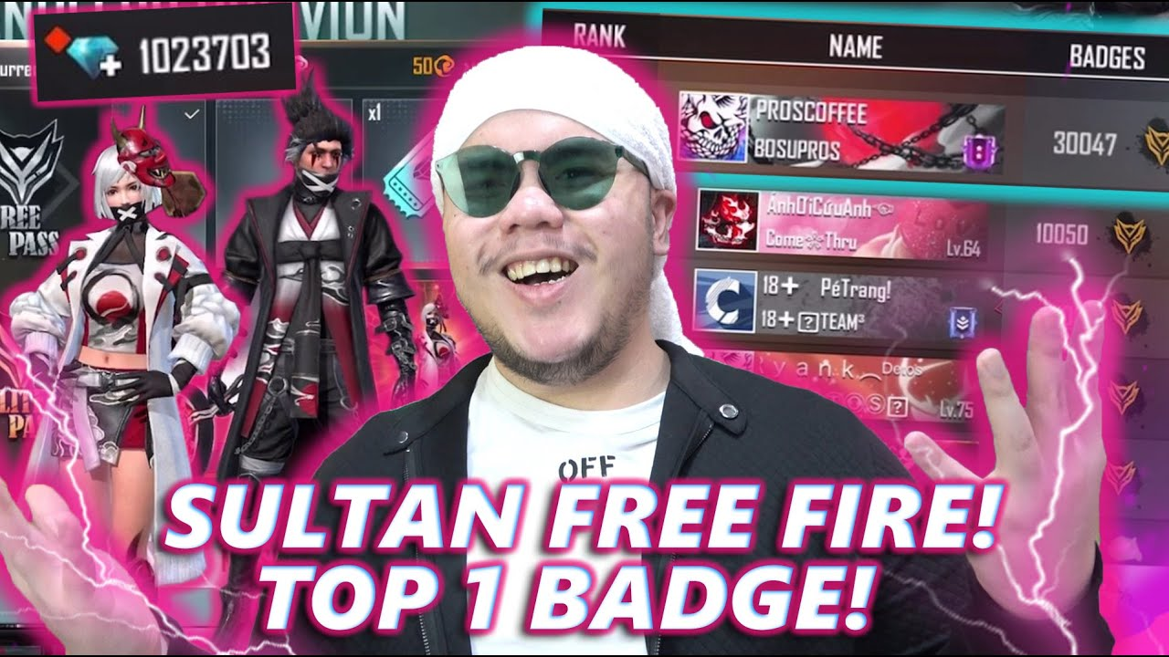 Download SULTAN FREE FIRE ABISIN 1JUTA DIAMOND! TANPA RAGU!