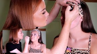 MAKEUP ARTIST DOES MY MAKEUP ¦ SULTRY BRONZE LOOK