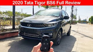 2020 Tata Tigor Facelift BS6 Full Review l Aayush ssm
